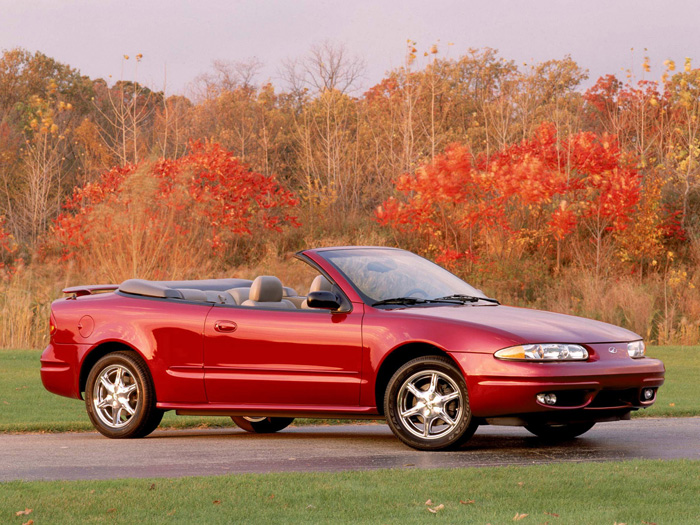 2001 Oldsmobile Alero Convertible