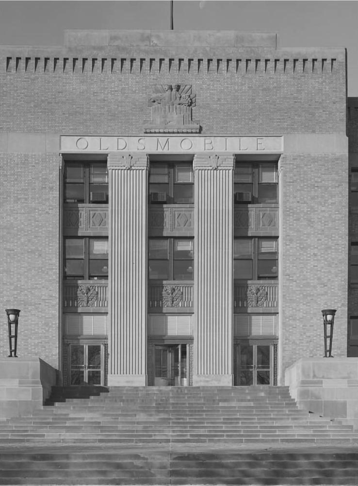 1951 Oldsmobile Admin Building