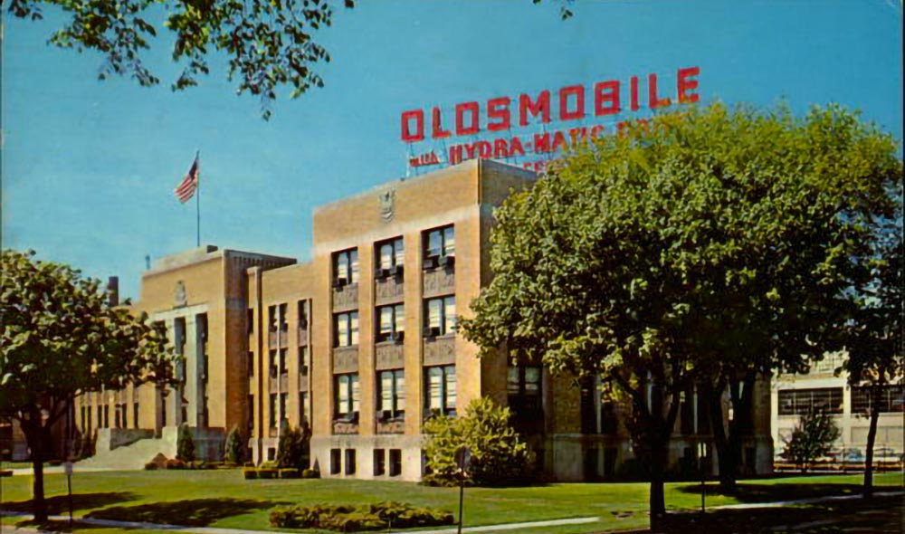 1963 Olds Admin Building