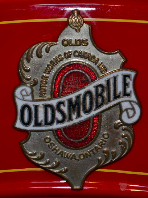 1919 Olds 3/4 Ton Truck V8 Grille Badge