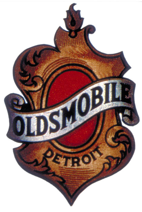 oldsmobile crest drawn logo