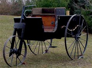 1887  Ransom E. Olds Experimental Wagon