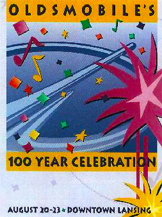 Oldsmobile 100 Year Celebration Logo