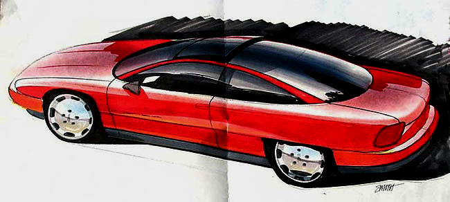 Oldsmobile Achieva Sketch