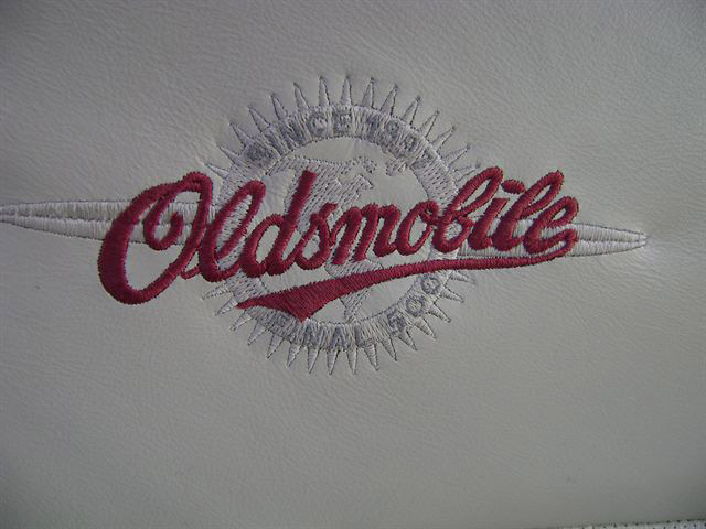 Final 500 Alero Seat Embroidery