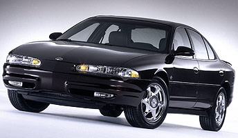 Oldsmobile Intrigue Final 500 Concept Front