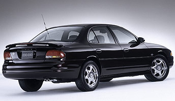 Oldsmobile Intrigue Final 500 Concept Back