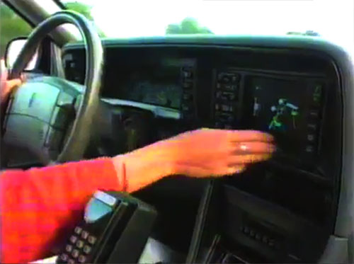 1992 Oldsmobile Toronado with TravTek in-dash GPS