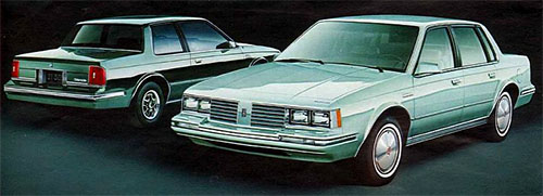 1982 Cutlass Ciera Coupe and Sedan