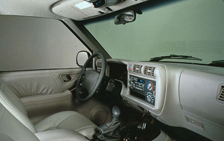 1996 Oldsmobile Bravada Interior
