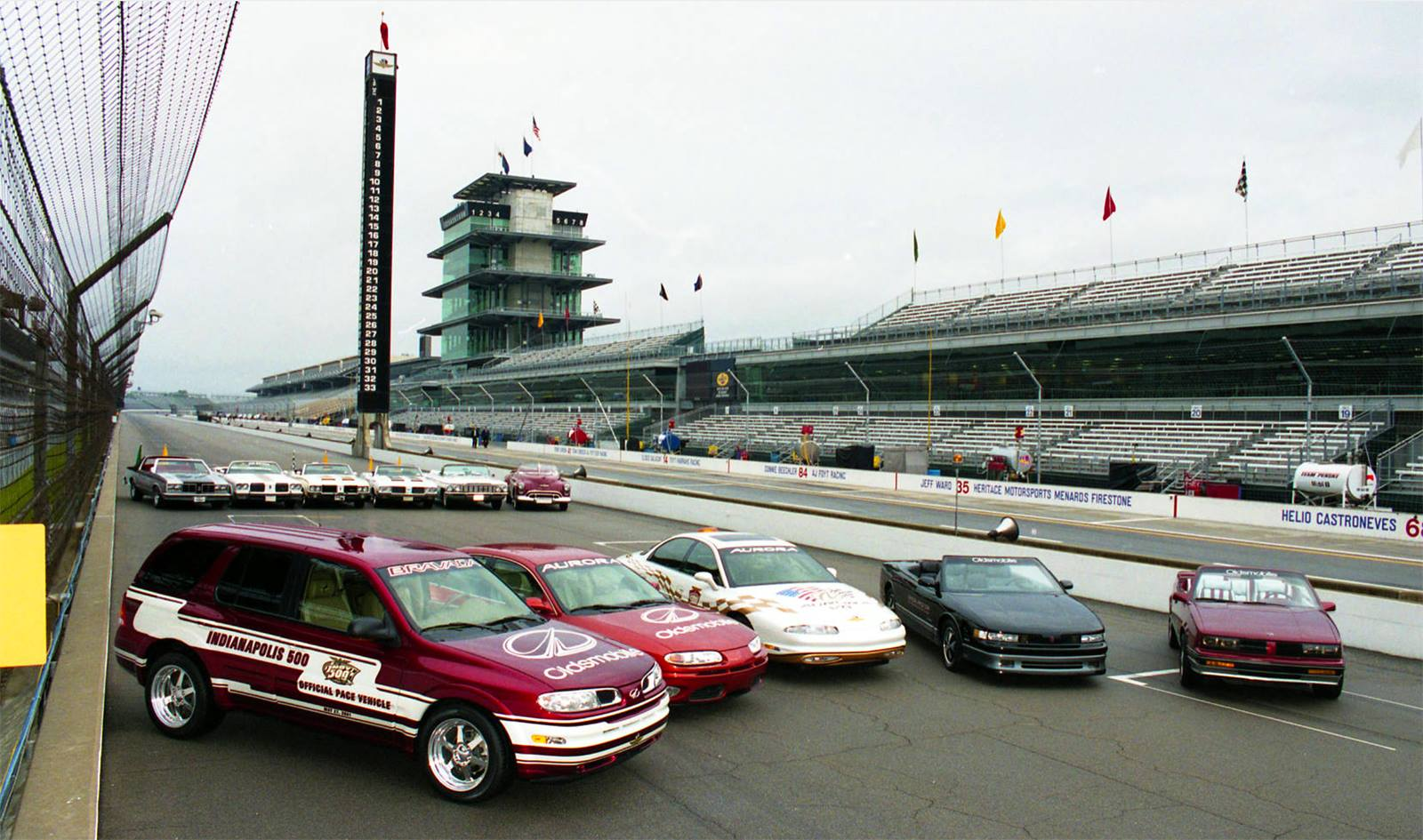 All Oldsmobile Pace Cars