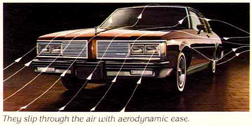 1982 Oldsmobile Aerodynamics