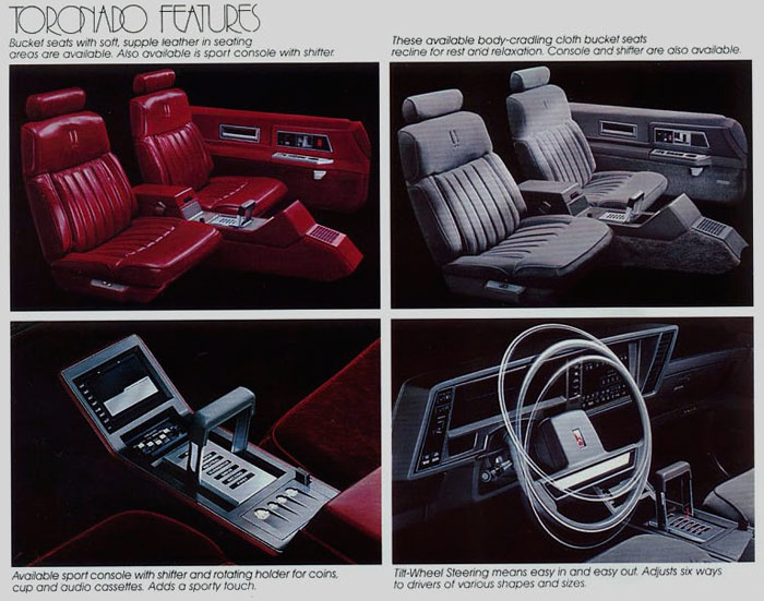 1987 Oldsmobile Interior
