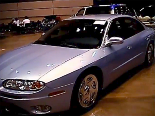 2001 Oldsmobile Aurora Zebra Show Vehicle