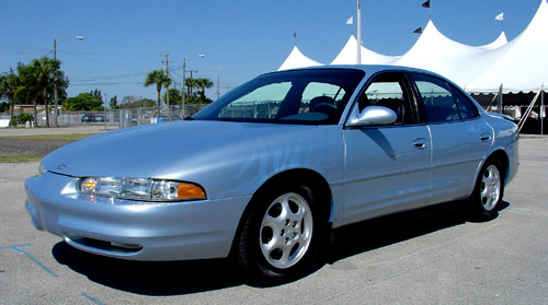 2001 Oldsmobile Intrigue Zebra Show Vehicle