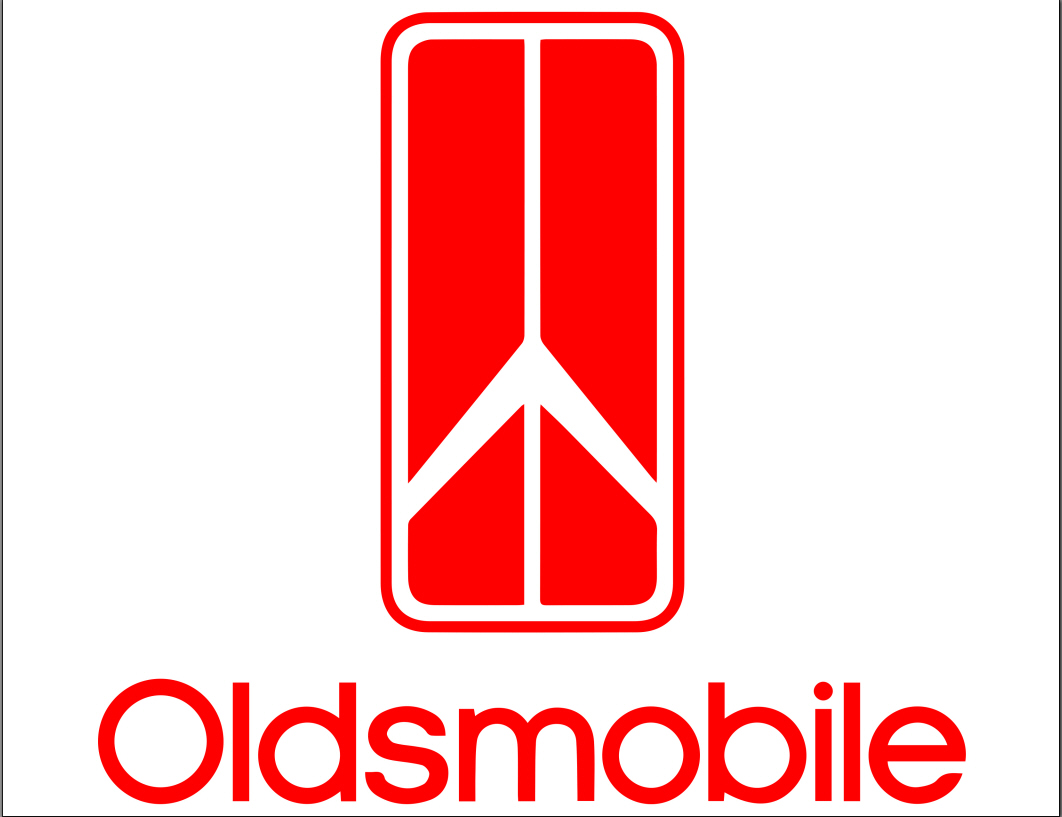 oldsmobile modern logo with text