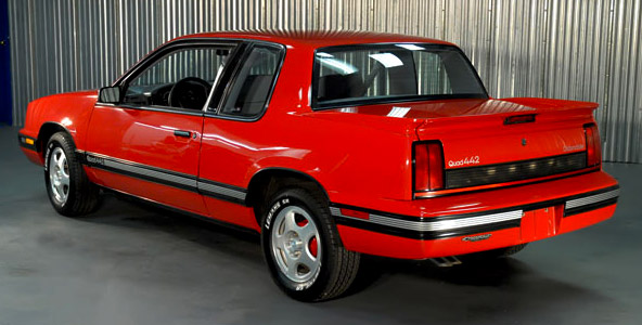 1991 Oldsmobile W-41 Quad 442 Rear