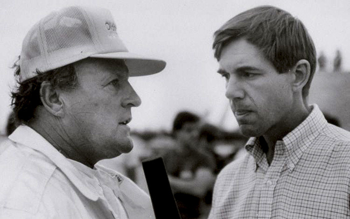 1987 - AJ Foyt and Sam Posey