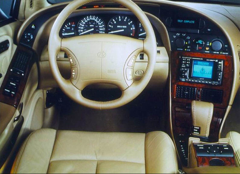 1994 Oldsmobile Aurora Show Car with Guidestar Integrated
