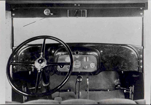 1929 Oldsmobile Viking Interior