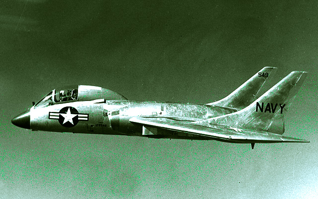 1954 Vought Cutlass Aircraft