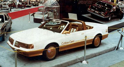 1983 Chicago Auto Show PPG Cutlass Ciera
