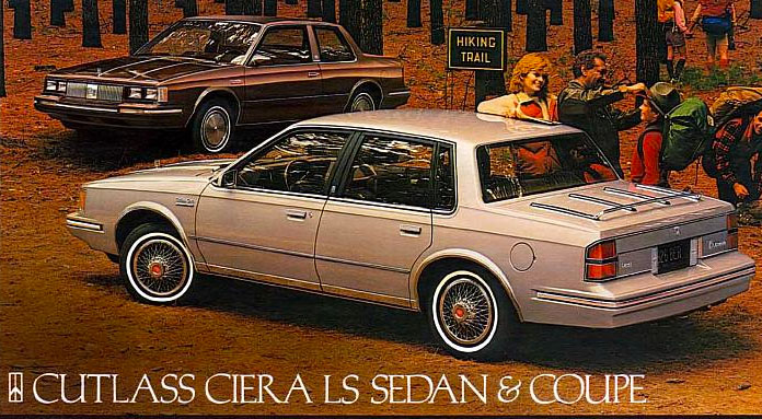 1984 Cutlass Ciera Sedan Coupe