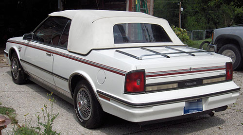 1985 Princess Ciera Convertible Rear