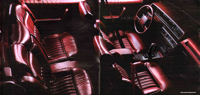 1990 Cutlass Interior