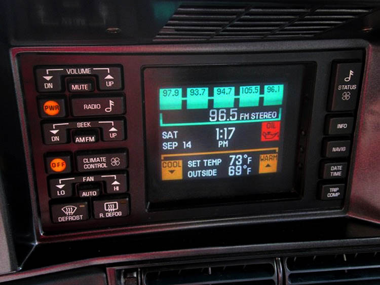 1992 Toronado Touch Screen
