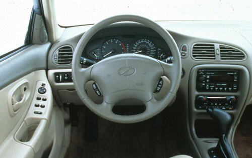 1998 Oldsmobile Intrigue Interior