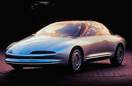Oldsmobile Aurora Tube Car Concept Front