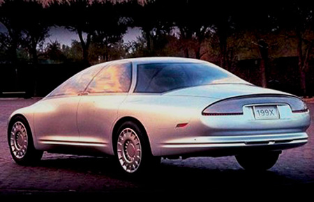 Oldsmobile Aurora Tube Car Concept Rear